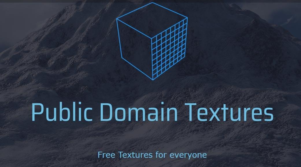 12_PublicDomainTexturesFrontPage