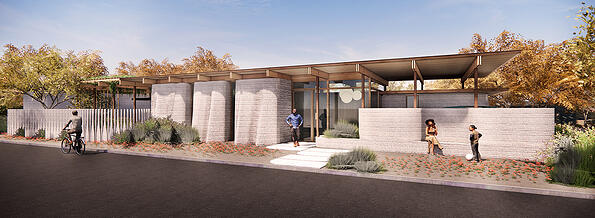3D Printed House by Lake|Flato