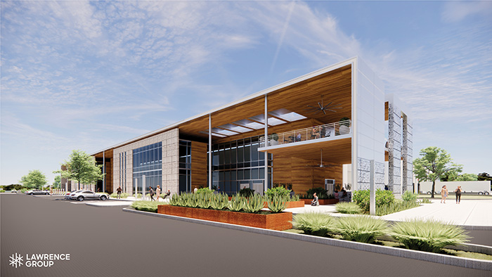 Lawrence Group OFFICE DAY render
