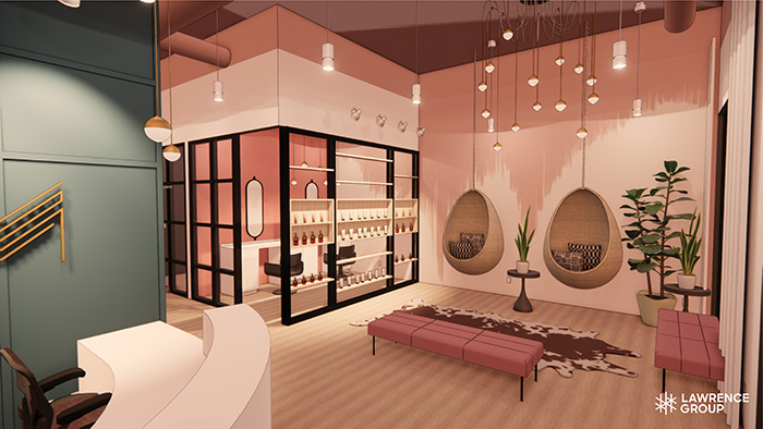 Lawrence Group Spa Render