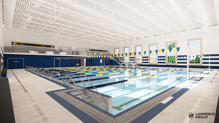 Lawrence Group Swimming Pool Render