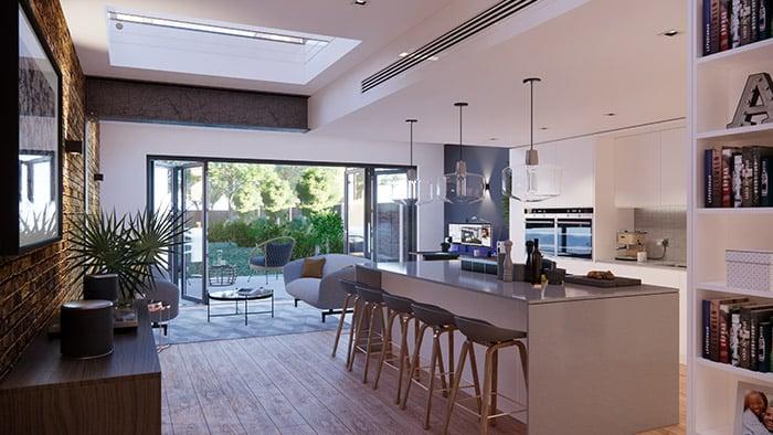 Ryan Boundy Interior Residential Render