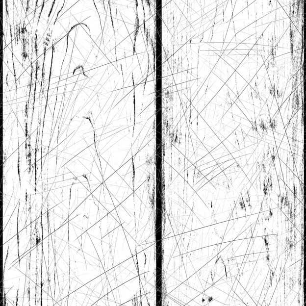 Wood scratch