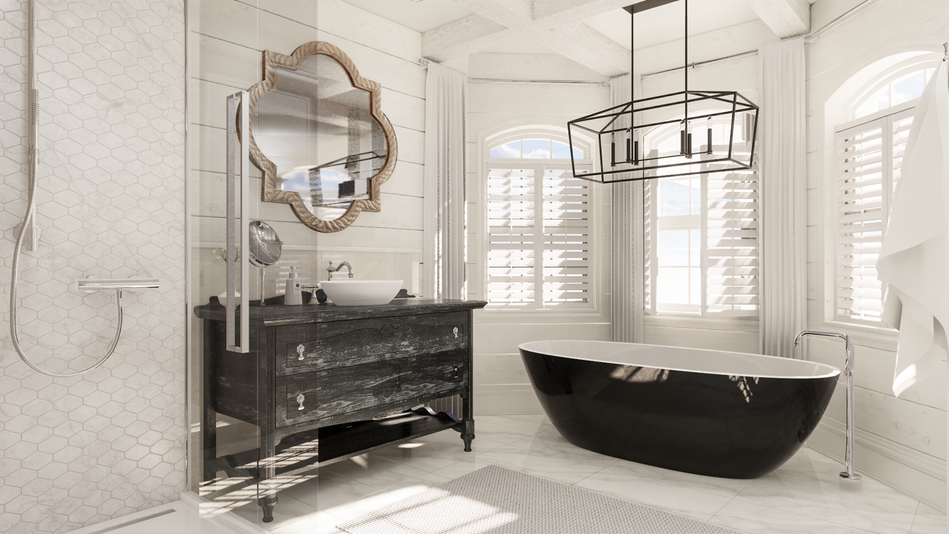 Artevo Bathroom Render