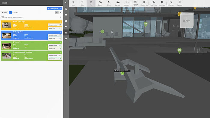 BIM Track Issue Tracking and Enscape