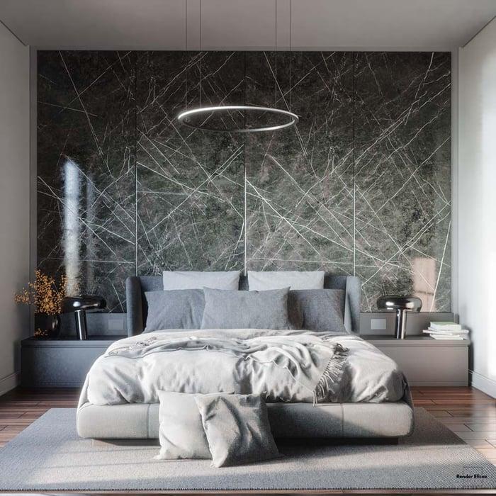 Bedroom Xuan Khanh 2 - Render Eficaz - Pablo Correa
