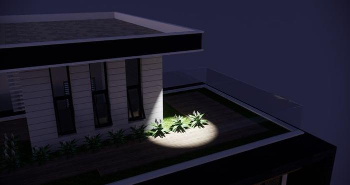 Best Practices Lighting in SketchUp-32