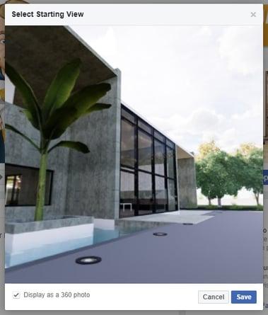 Render interactive panoramas in seconds