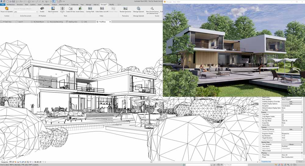 Enscape and Revit