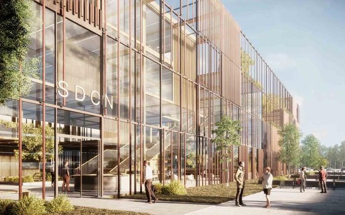 Exterior Commercial Render_Vilhelm Lauritsen Arkitekter-1