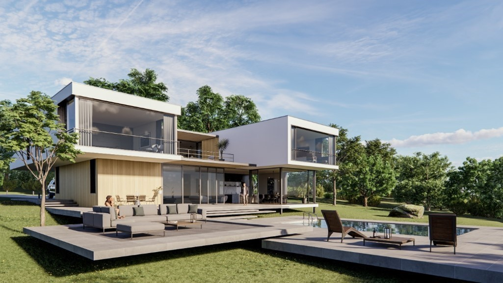 External residential project
