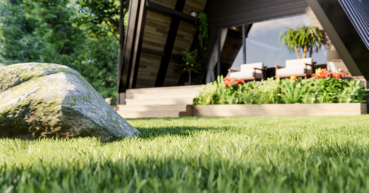 Grass in Enscape-1