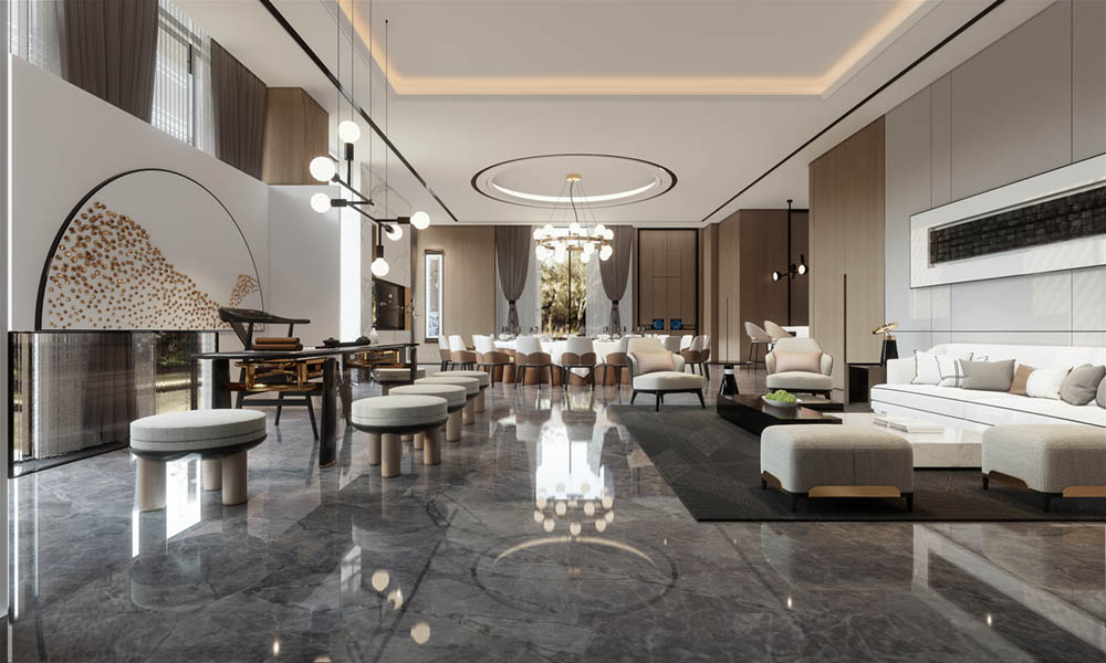 Hotel Interior Render
