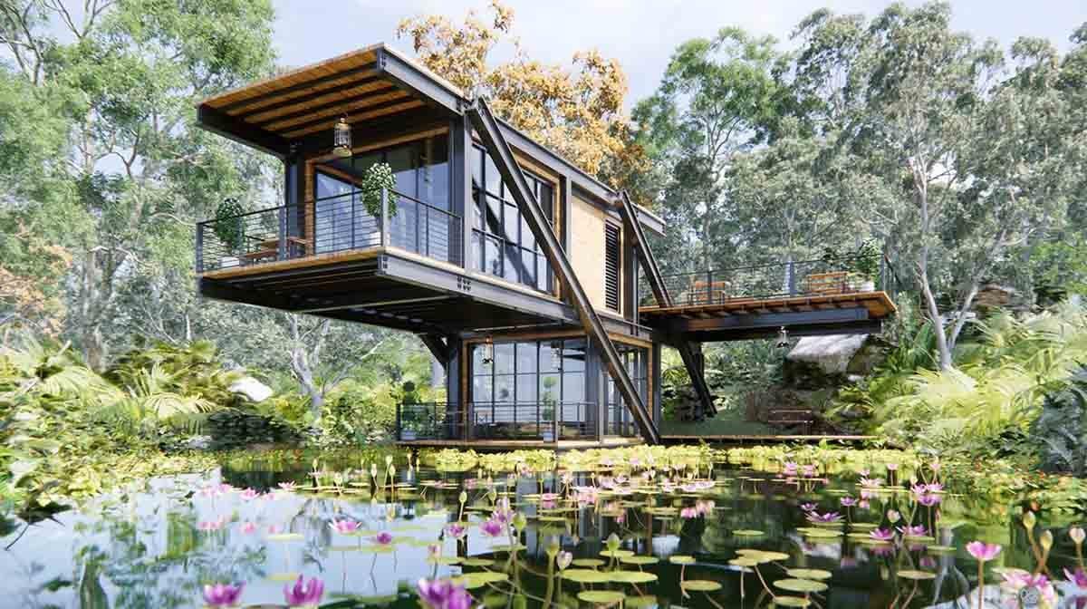 Lake House Modern