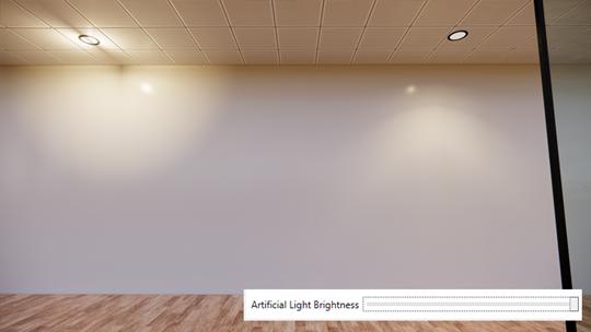 Light brightness