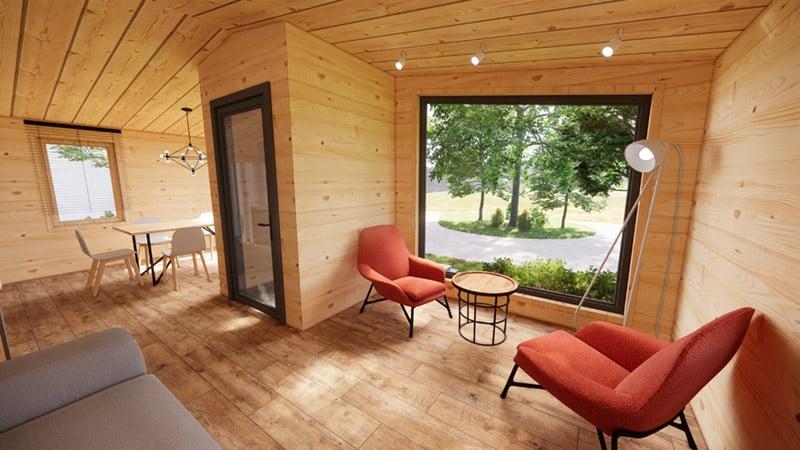 Log cabin Joseph Kim