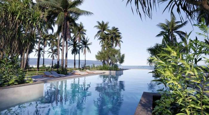 Luxury Swimming Pool Hotel-1