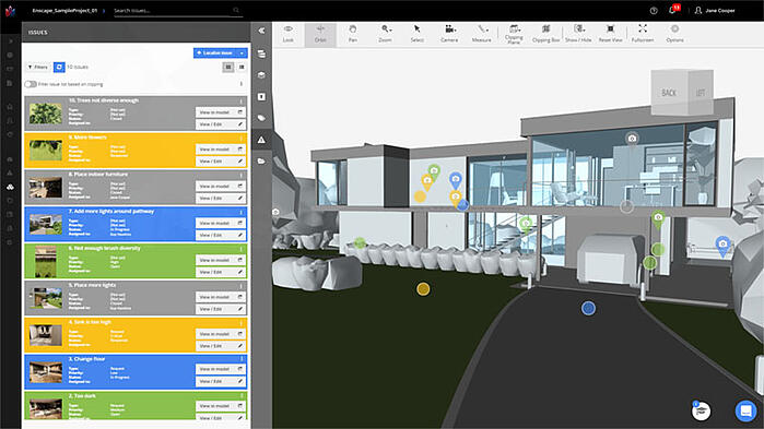 Tracking Multiple Issues in BIM Track and Enscape