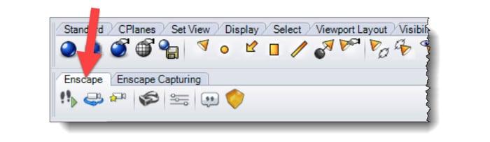 Rhino toolbar