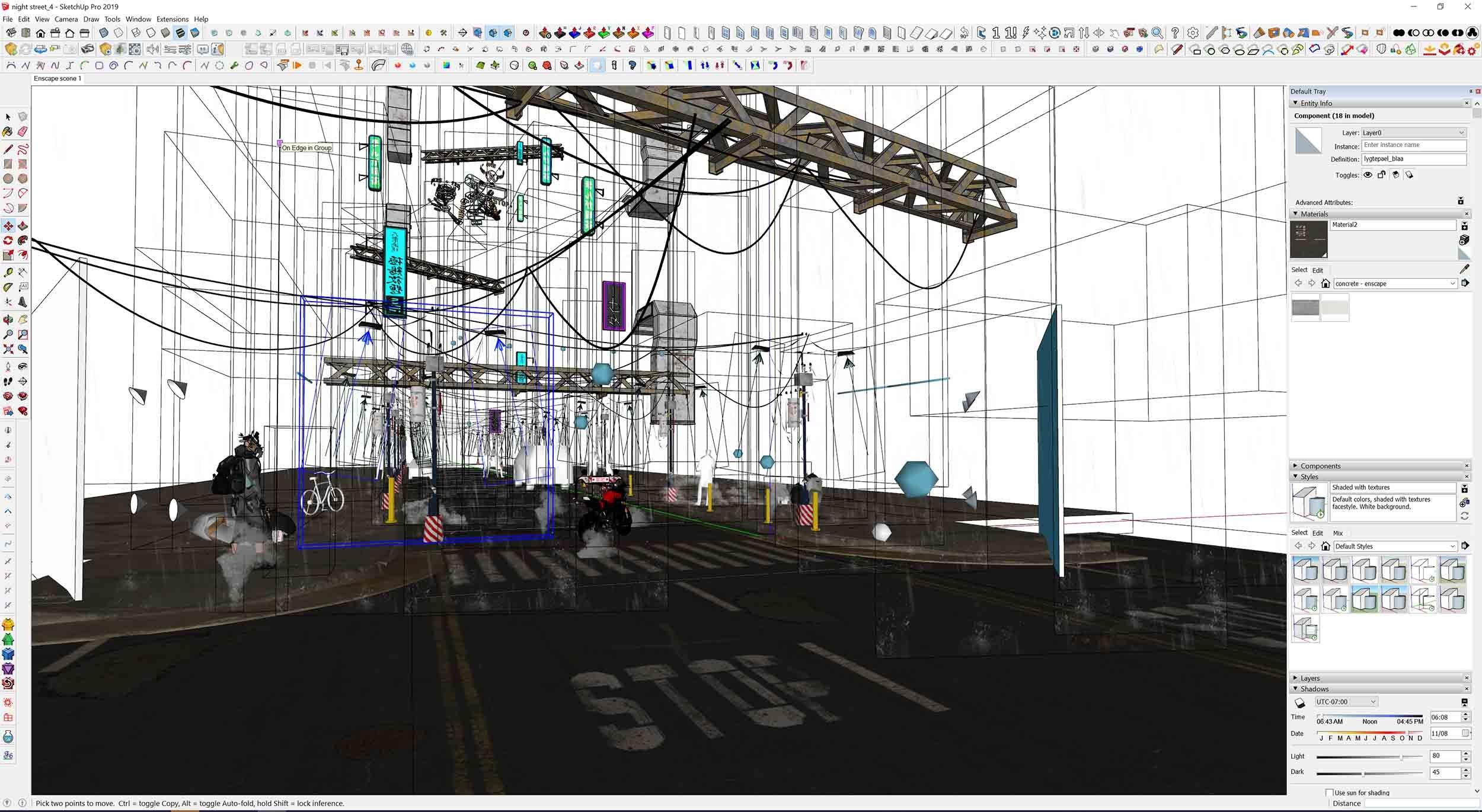 SketchUp View 1