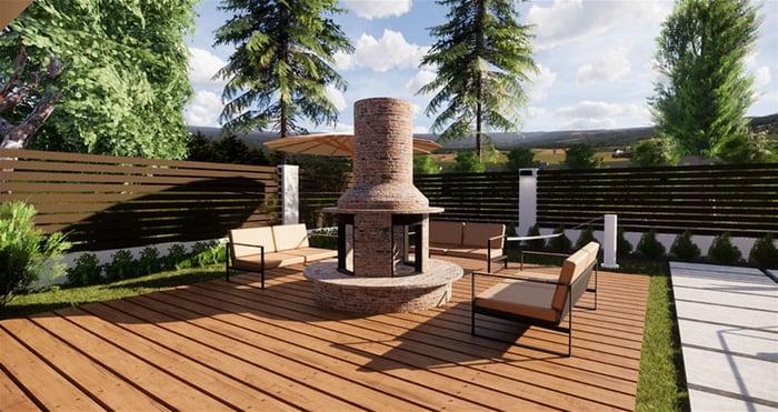 Terrace example