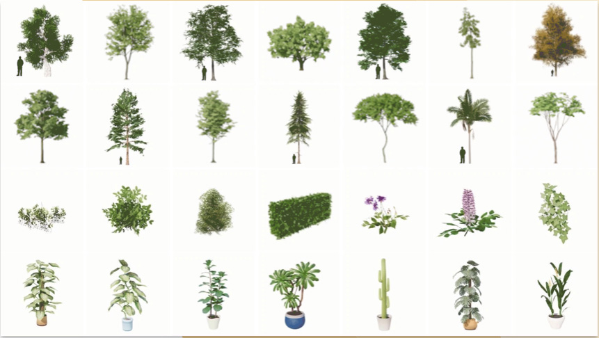 Vegetation Library