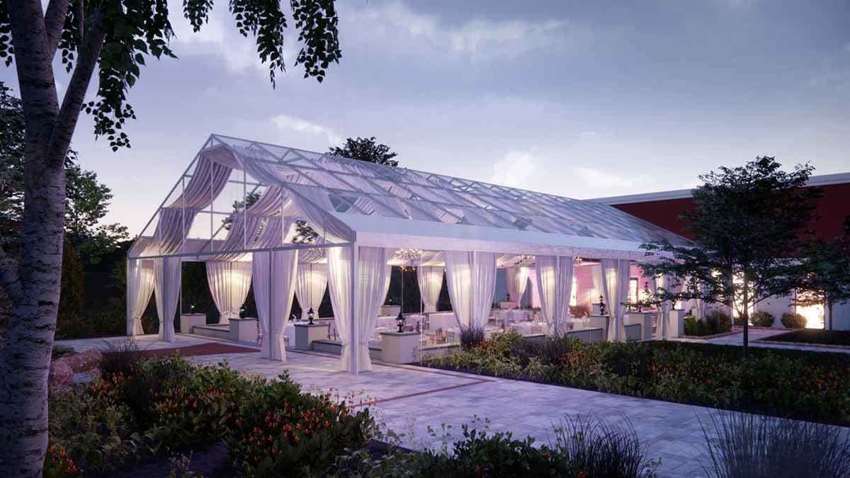 Wedding Venue Rendering