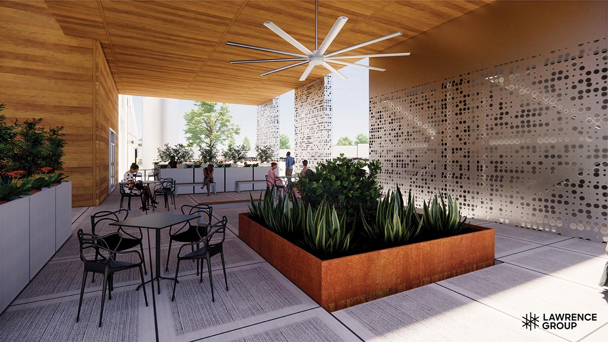 Lawrence Group example of render using Enscape