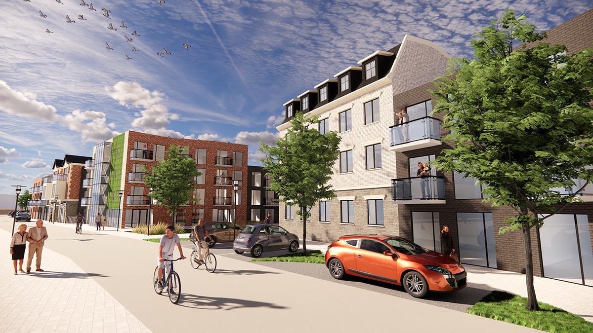 Modern Residential Property Renders