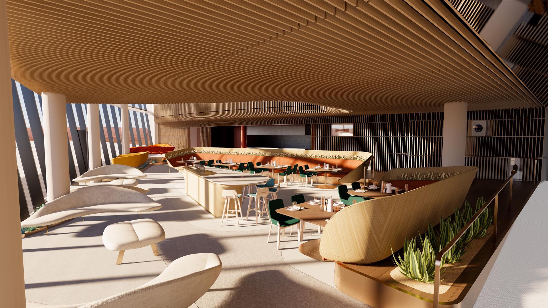 Viewport Studio Spaceport America ground floor interior